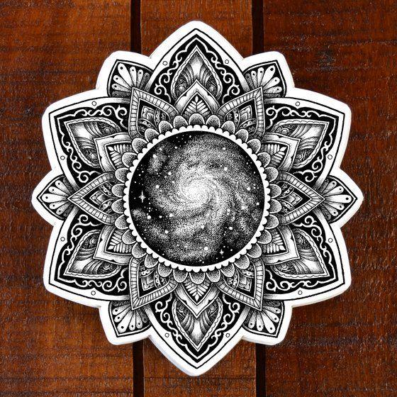 Photo of Tree Mandala Sticker / Tyler Hays Illustration