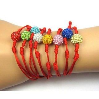 10mm Bead Bracelet for Women trand Rope Shamballa Bracelets