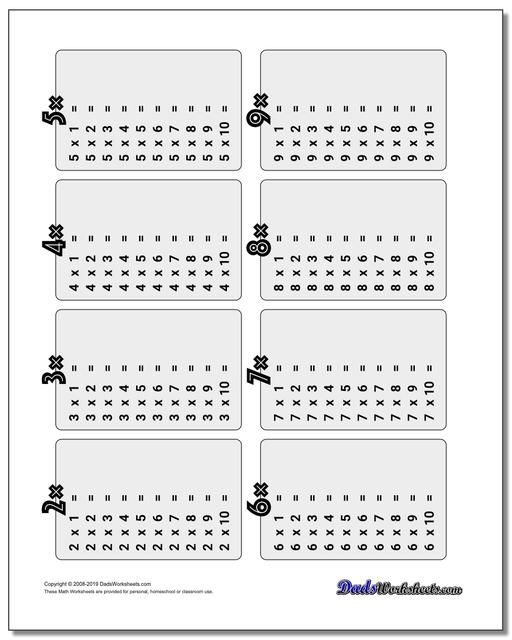 Printable Multiplication Table   Multiplication table ...