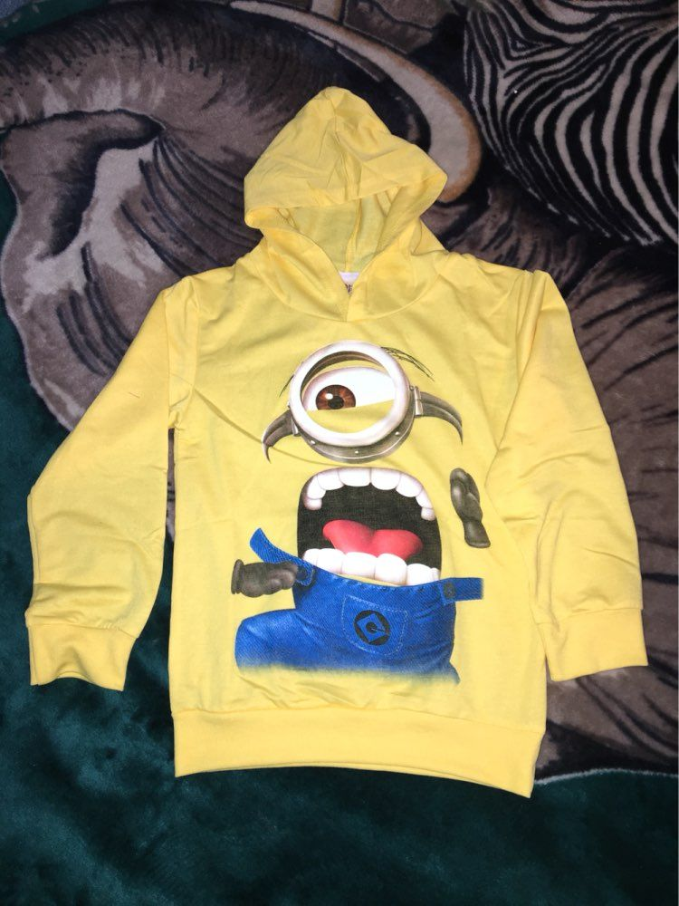7f84e147d Click to Buy    Kids despicable me 2 minion Hoodies shirt child ...