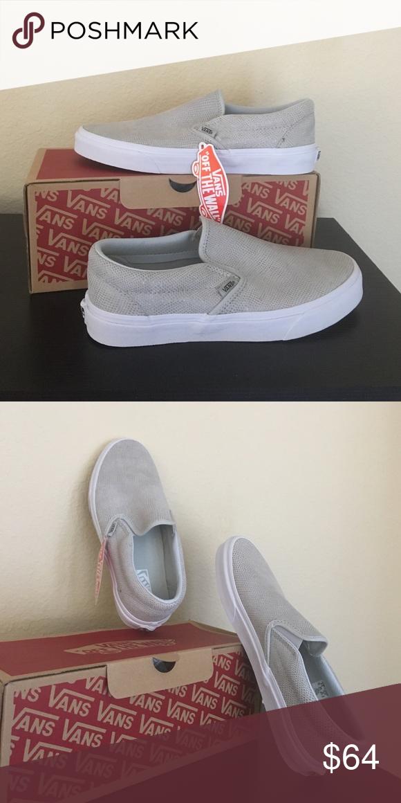 89529e7747d052 Vans pebble snake glacier gray shoes New with tags women s size 10 Vans  Shoes Athletic Shoes