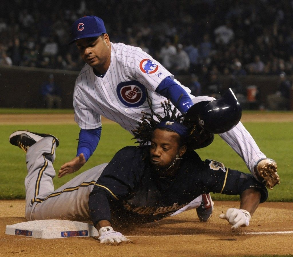 Ricky Weeks Milwaukee brewers, Cubs baseball, Chicago cubs