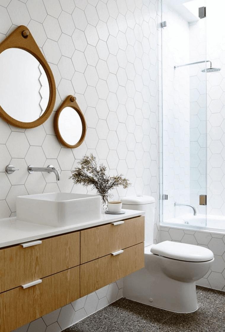 bonito diseño de cuarto de baño moderno | Baños | Pinterest | Cuarto ...