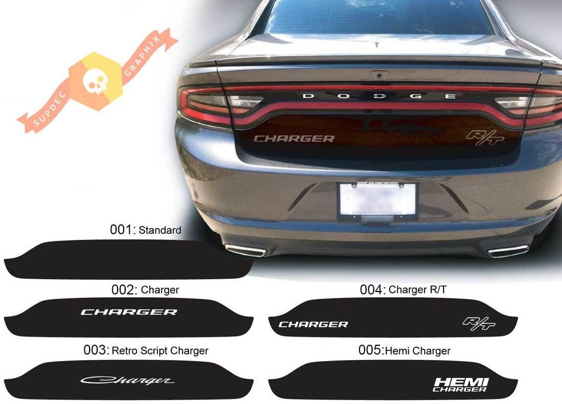 Dodge Charger Trunk Blackout Hemi Rt Decal Sticker Complete Graphics Kit Fits To Models 2015 2020 Dodge Charger Healthy Dog Treat Recipes Sweet Potatoes For Dogs
