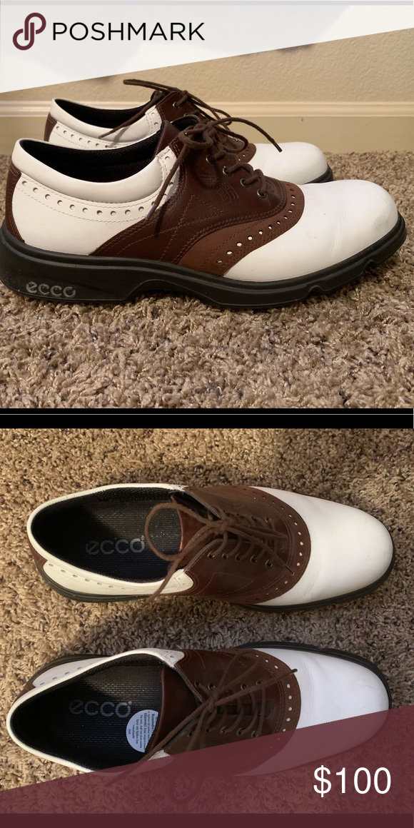 used ecco golf shoes