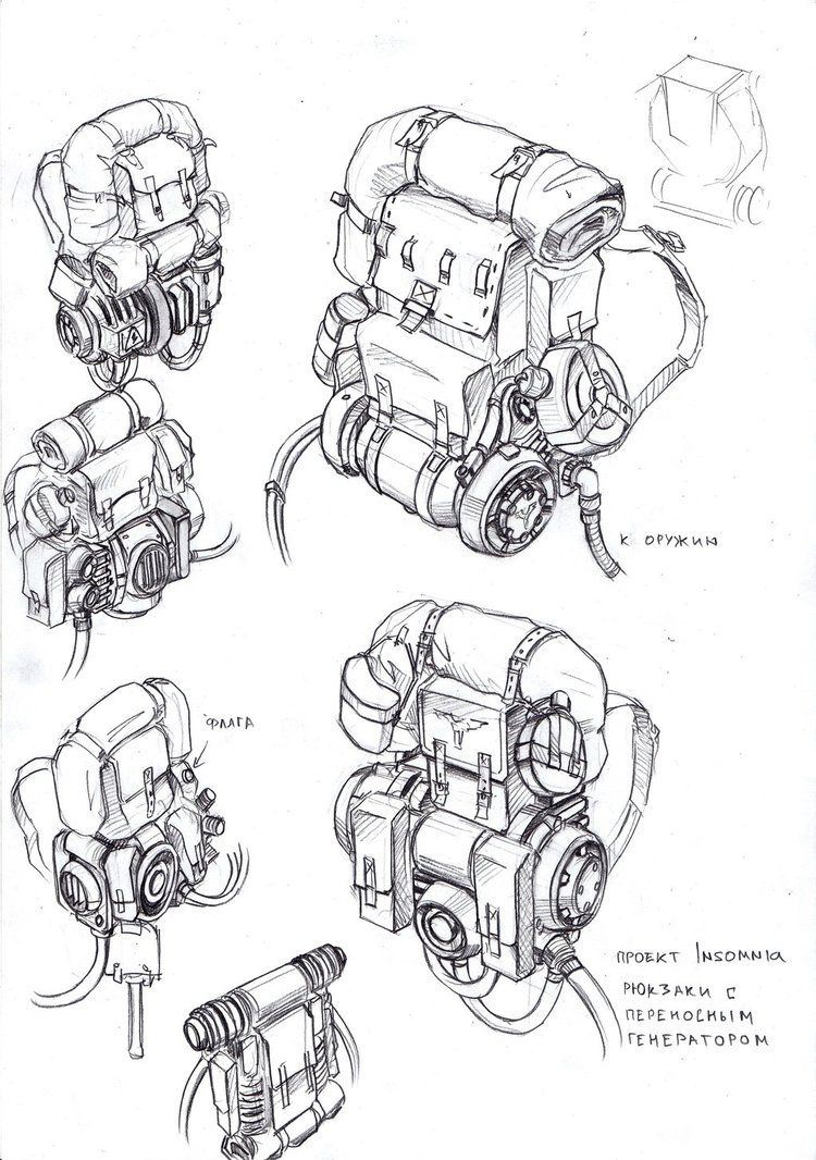 Backpack generators 1 by tugodoomer mad max in 2019