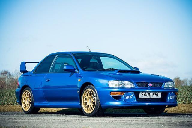 A Holy Grail Subaru Impreza 22b Sti Is Up For Sale Subaru Impreza Sti Subaru Impreza Wrx