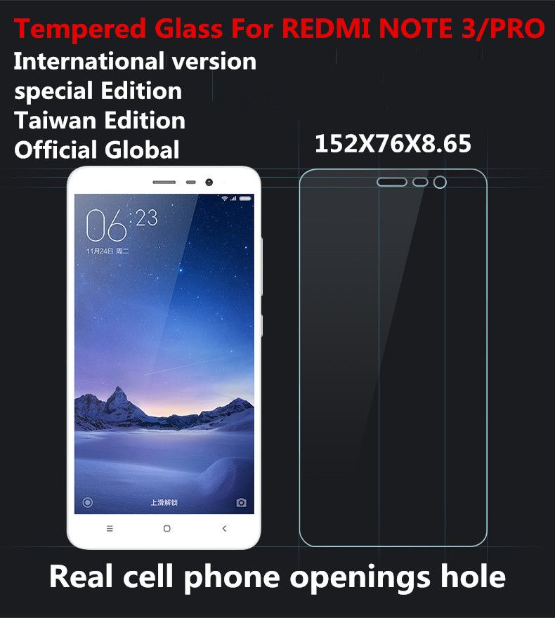 Special edition versione internazionale cassa in vetro temperato per xiaomi redmi mi note 3 pro ufficiale globale taiwan edizione se 152mm