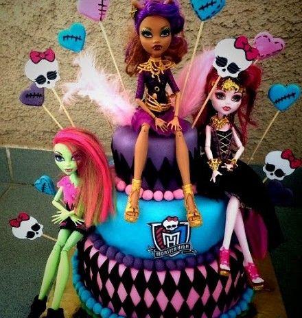 Pleasing Monster High Birthday Cake Walmart Birthday Cake Kids Girls Personalised Birthday Cards Veneteletsinfo