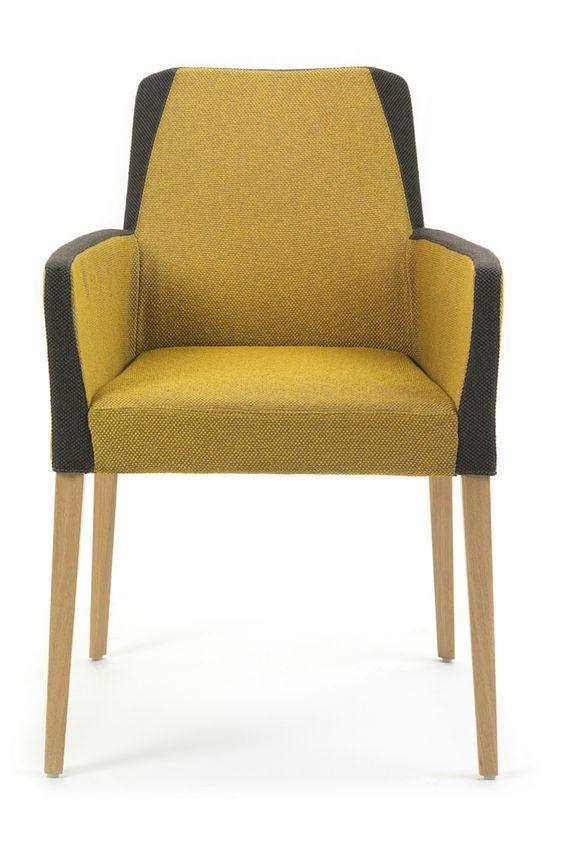 chaise bicolore kenzie par mobitec ce modle original jouera merveille le rle de fauteuil dans votre salon comme celui de chaise de salle manger - Modele De Chaise