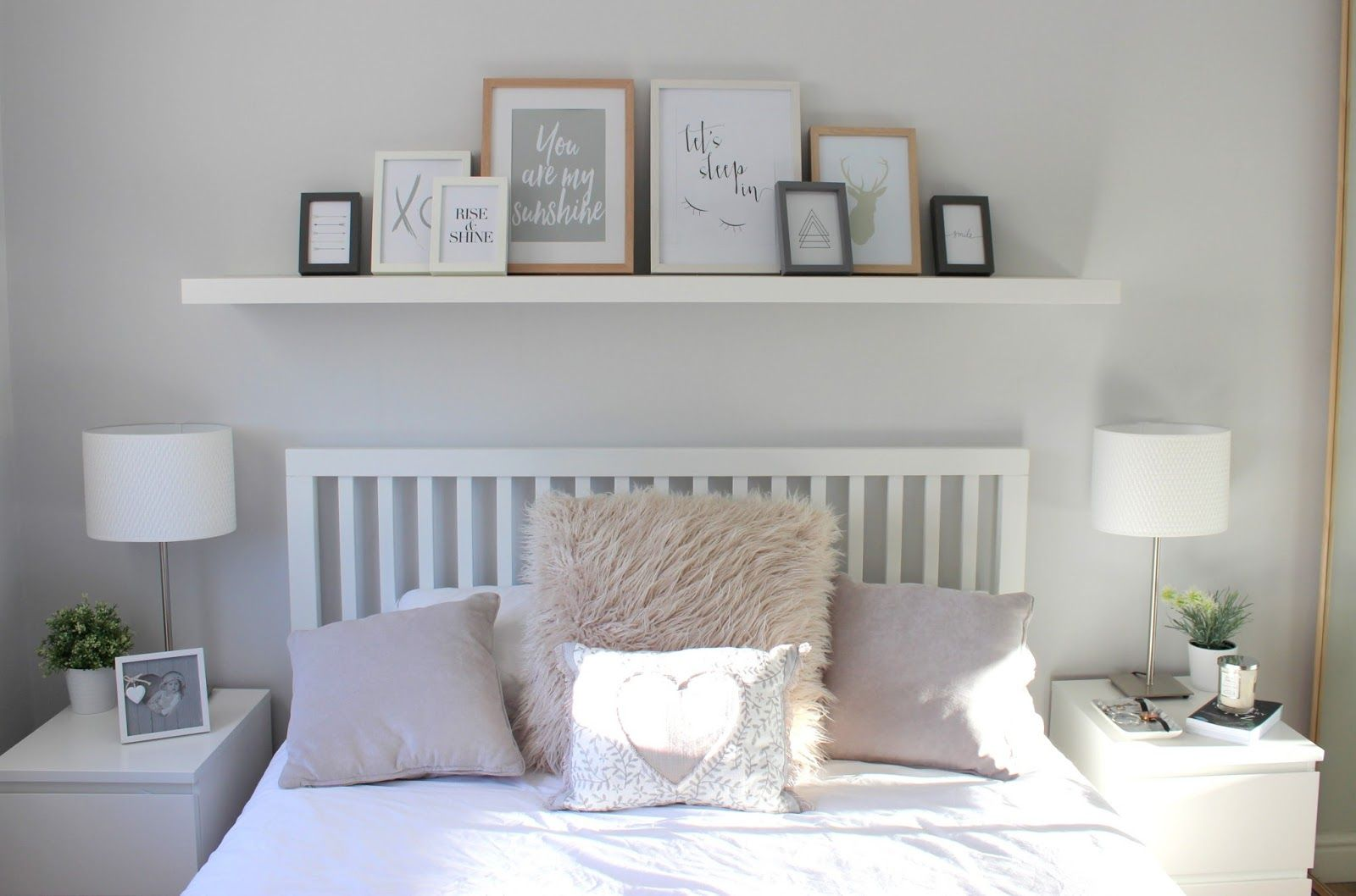 HOME | Bedroom Tour | Room inspo | Home bedroom, Shelves in ...