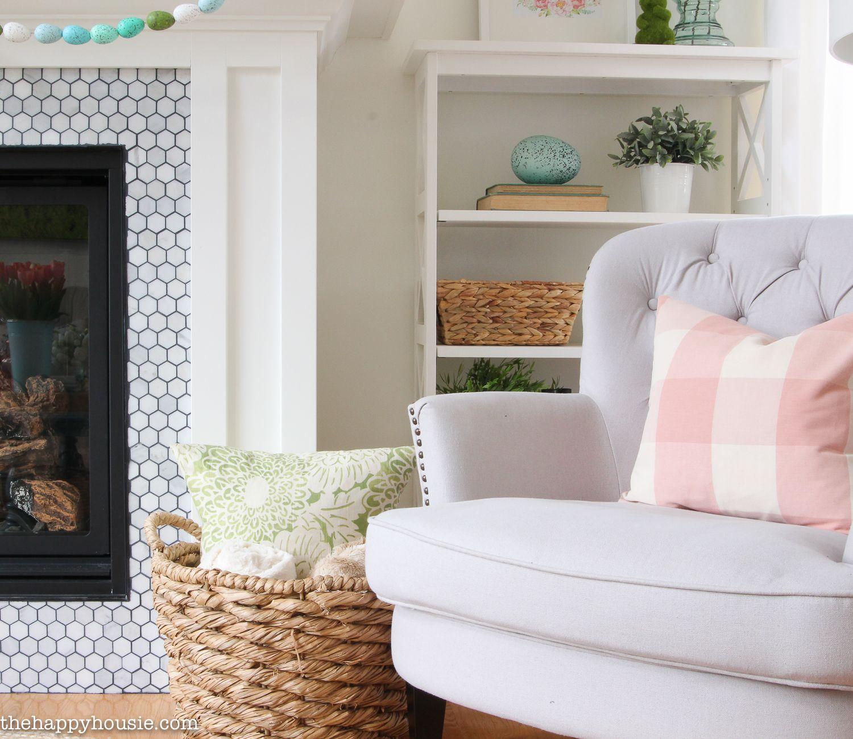 Seasonal simplicity spring home tour house ideas pinterest