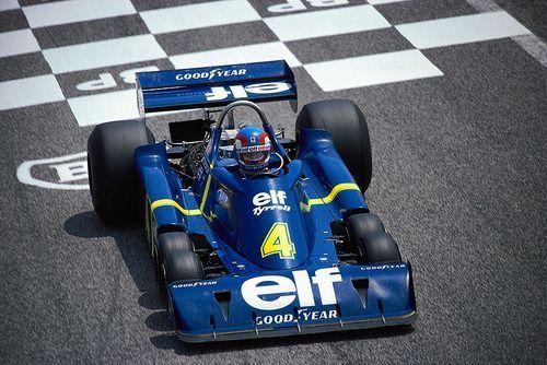 Image Formule1 de Jim Desmond du tableau Tyrrell P34