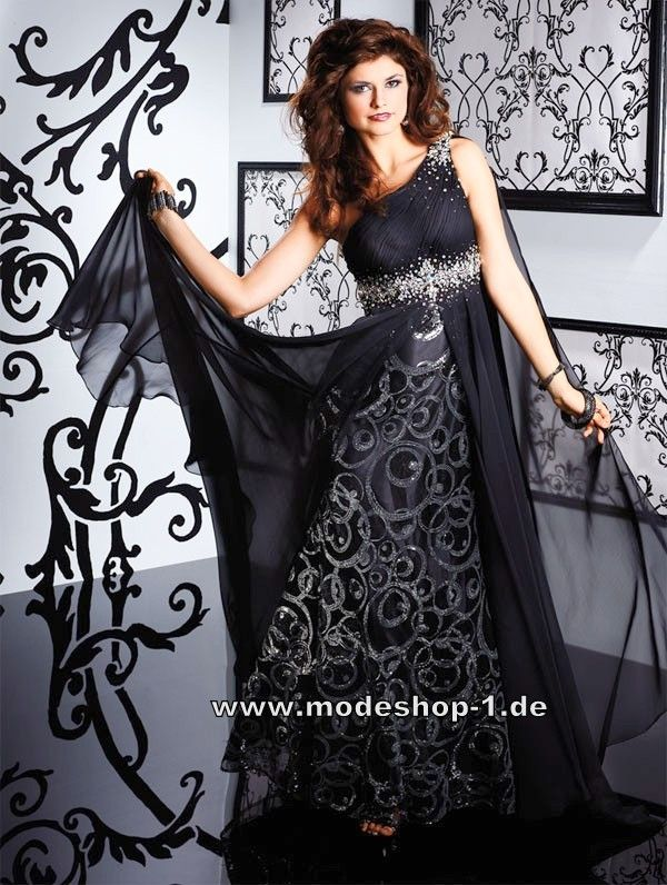 Schone lange schwarze kleider