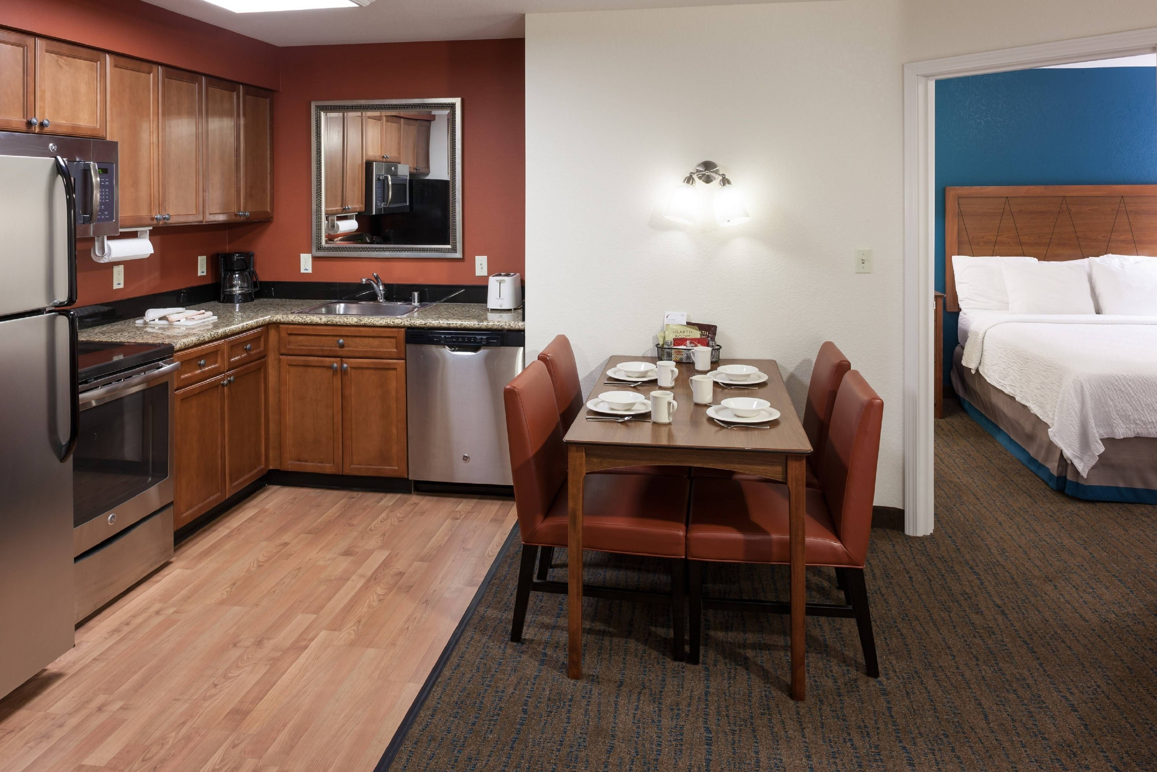 Residence Inn San Bernardino Two Bedroom Suite Kitchen Suite