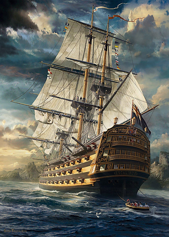 Sails Set 1000 Piece Puzzle | Shop | Sailing ships, Old ...