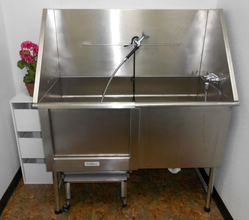 Farming Uk Meat Processing News: Mud Room Grooming Sink Used For Meat Processing, Oversized