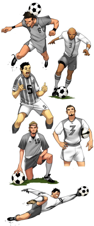 66a2b2bc6c8c2e5d97582ba840fb4220 Jpg 600 1440 Football Poses Soccer Poses Football Drawing