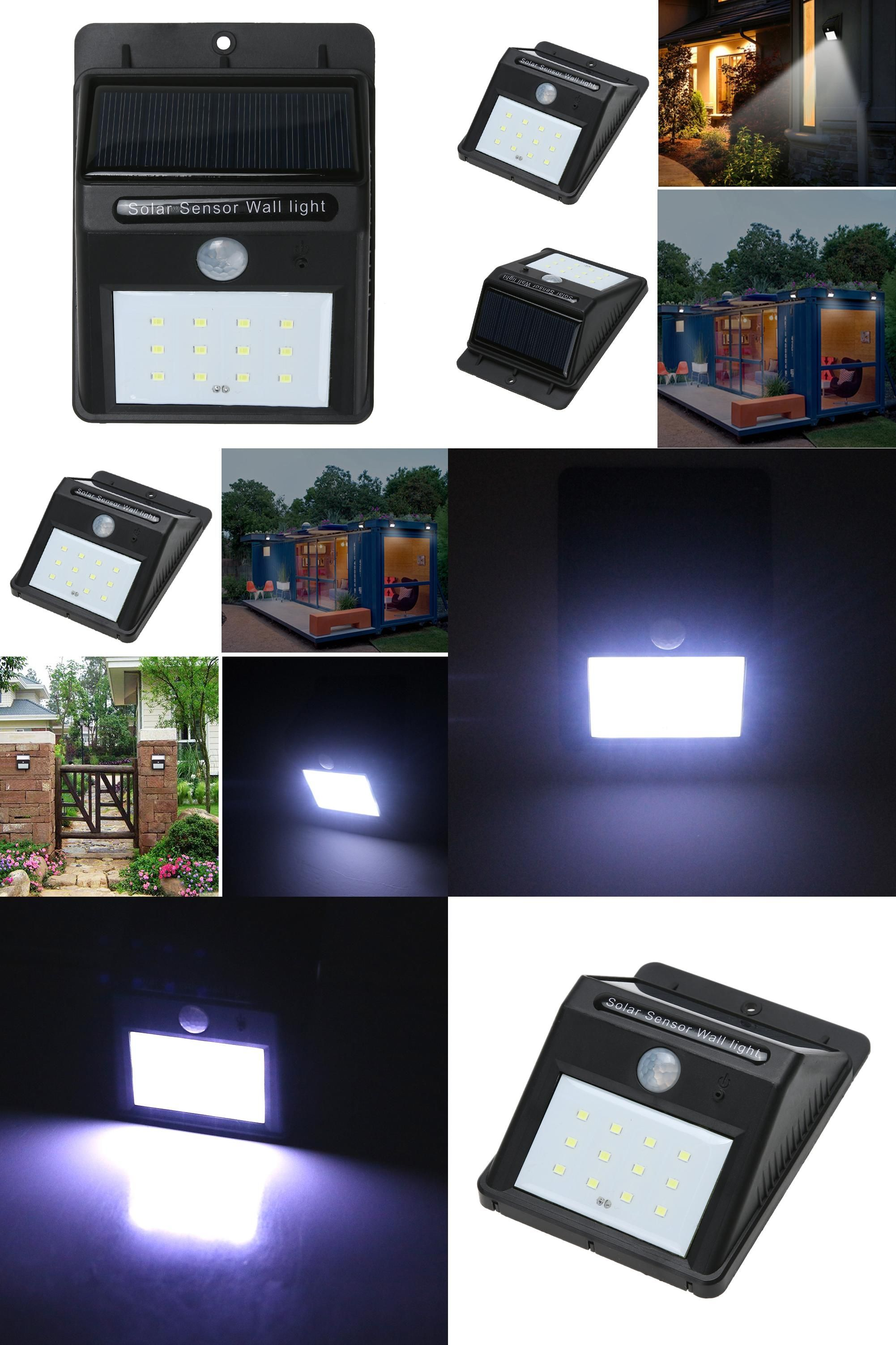 Visit To Buy 12 Led Solar Power Pir Motion Sensor Wall Light Outdoor Waterproof Energy Saving Solar Powered Lights Motion Sensor Lights Solar Garden Lanterns
