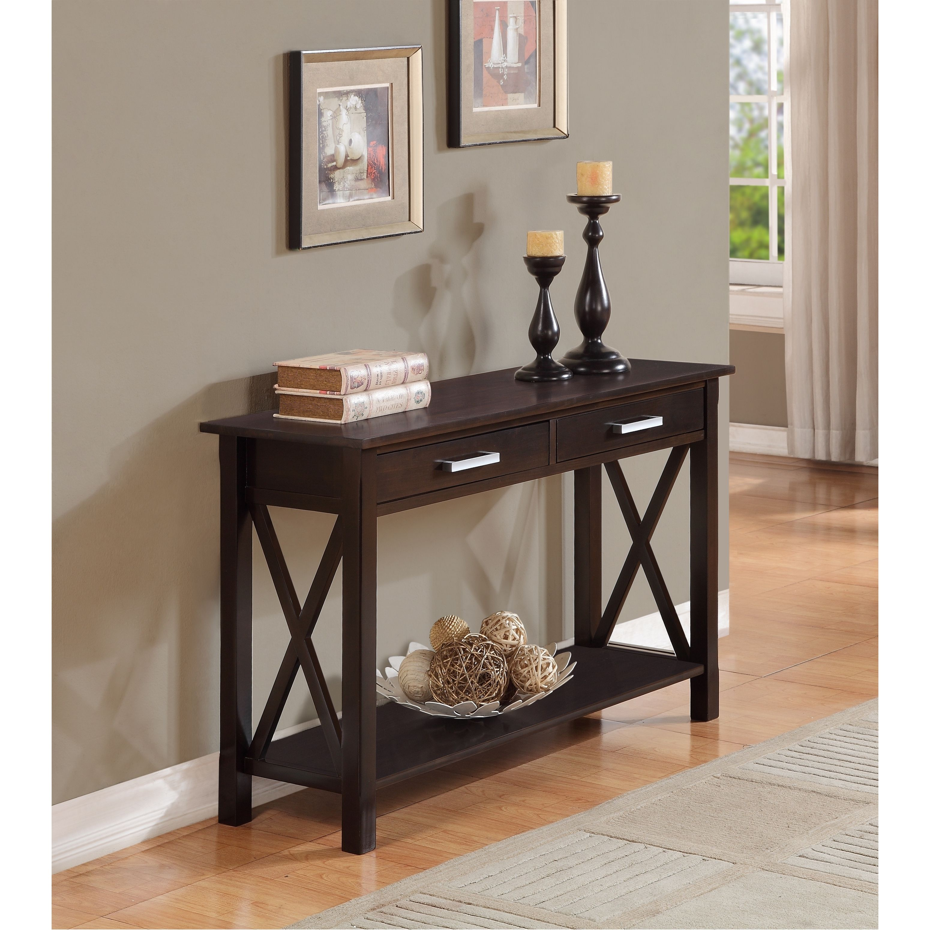 This Handsome Waterloo Console Table Is Both Elegant And
