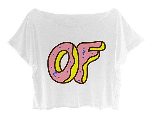 3ccc3afbd09c01 OFWGKTA Women s Crop Top Odd Future Tee Shirt Free Ship