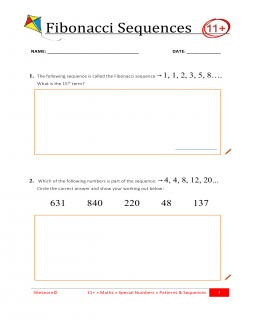 Patterns Sequences Iii Resources Informative Exam