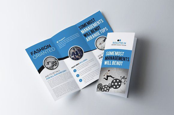Business Trifold Brochure Template Business flyers, Brochures - flyers and brochures templates