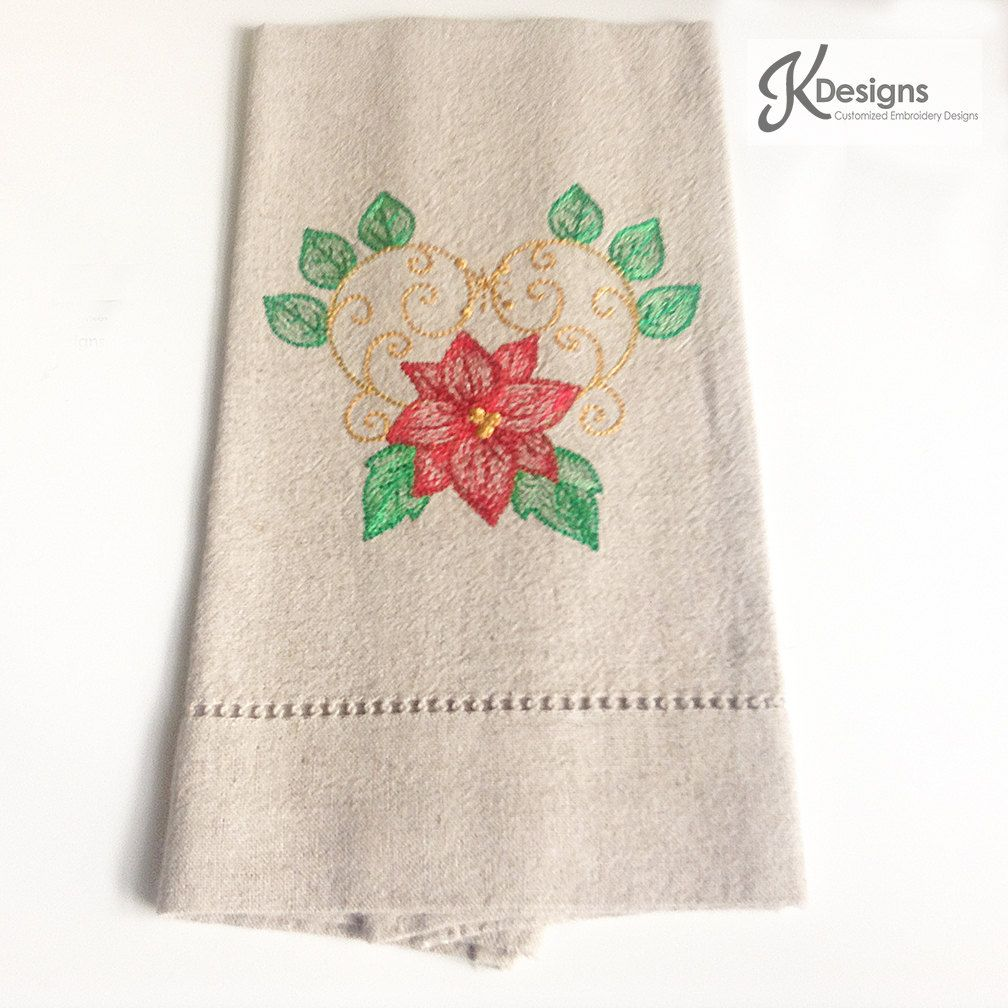linen guest towels custom like hand embroidered