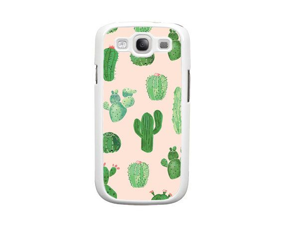 cover samsung s6 cactus