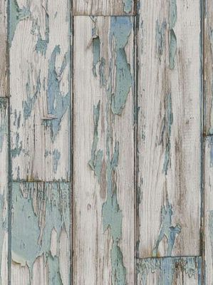DecoratorsBest   Detail1   CC W0050 3   Peeling Planks WP   Mineral    Wallpaper
