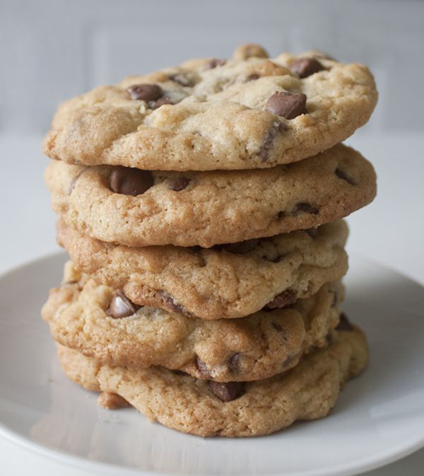 Perfect Chocolate Chip Cookie recipe to make without eggs ...
