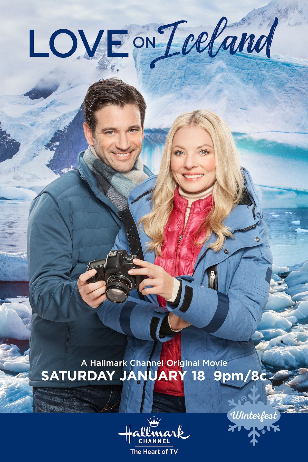Love On Iceland Stars Kaitlin Doubleday Colin Donnell And The Epic Landscapes Of Icel In 2020 Christmas Movies On Tv Romantic Comedy Movies Hallmark Movies Romance