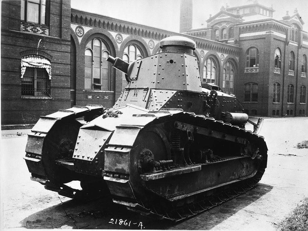 World War I Tank Outside National Museum. #worldwar1 | World War I ...