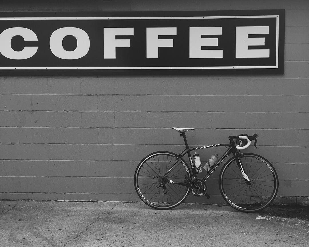 Some things go together like 'Peas and Carrots'. #coffeeandbikes #iamspecialized #Allez (Photo: @nicholasjared ) by iamspecialized
