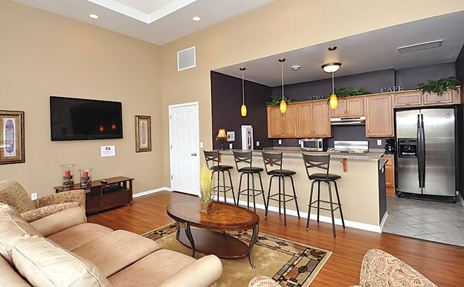 open concept kitchen and living room vaulted ceiling - Google Search