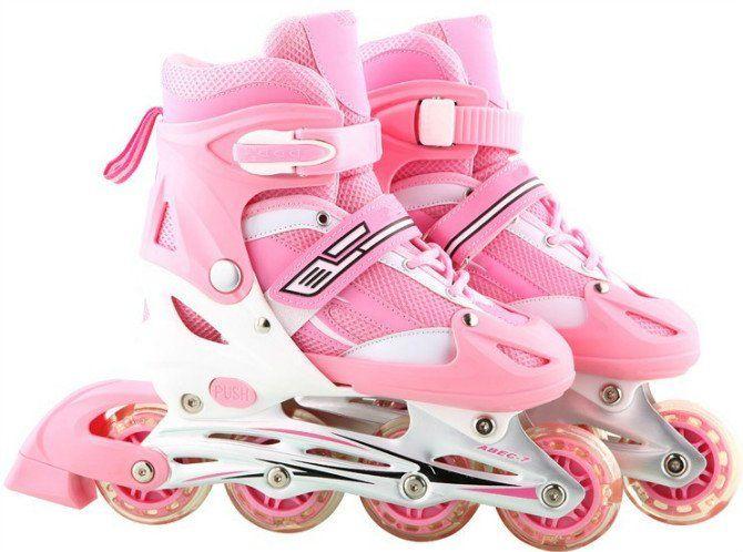 54d19c80358 Pink Roller blades Skate 4