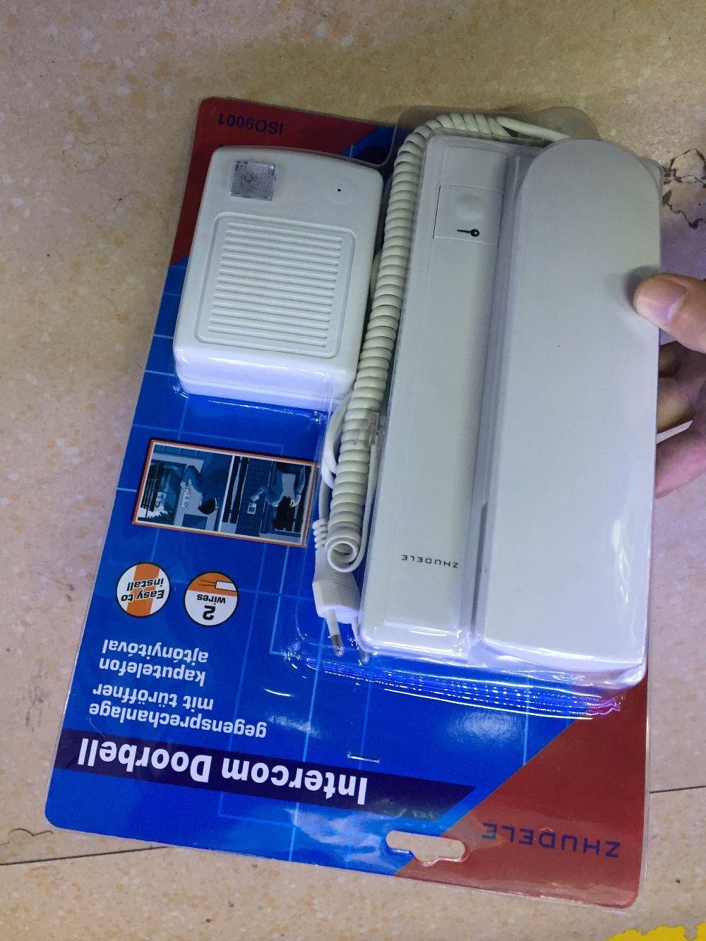 Audio Lntercom Doorbell House Door Entry Intercom System Security