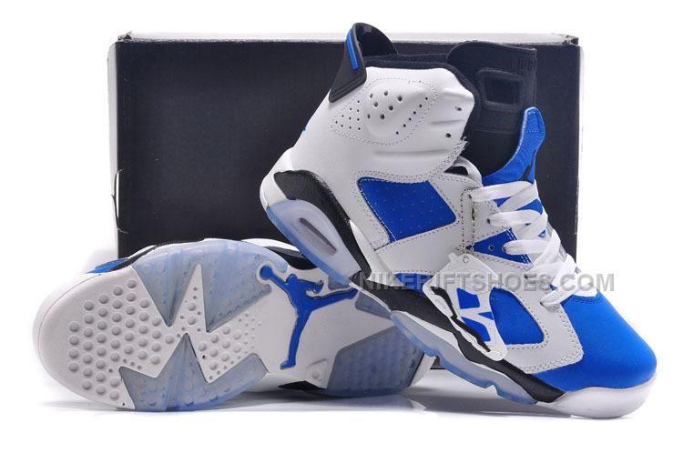 15cd8e2f743 Jordan 6 Bluemine White Royal Blue Black Free Shipping, Price: $92.00 -  Nike Rift Shoes