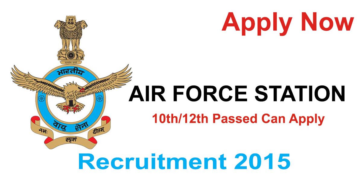 Air Force Station Recruitment 2015 Recruitment, Railway