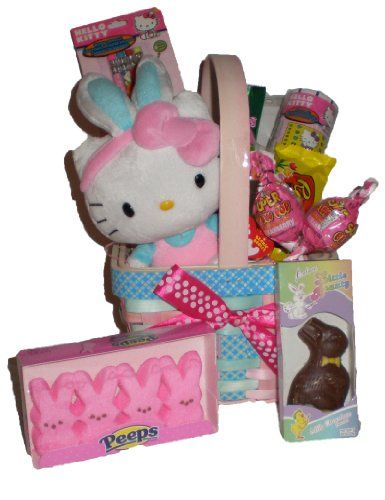Hello Kitty Chocolate and Treats Easter Love Basket