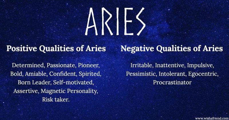 negative aries horoscope