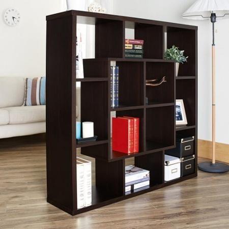 Furniture Of America Lestana Multi Functional Espresso Bookcase