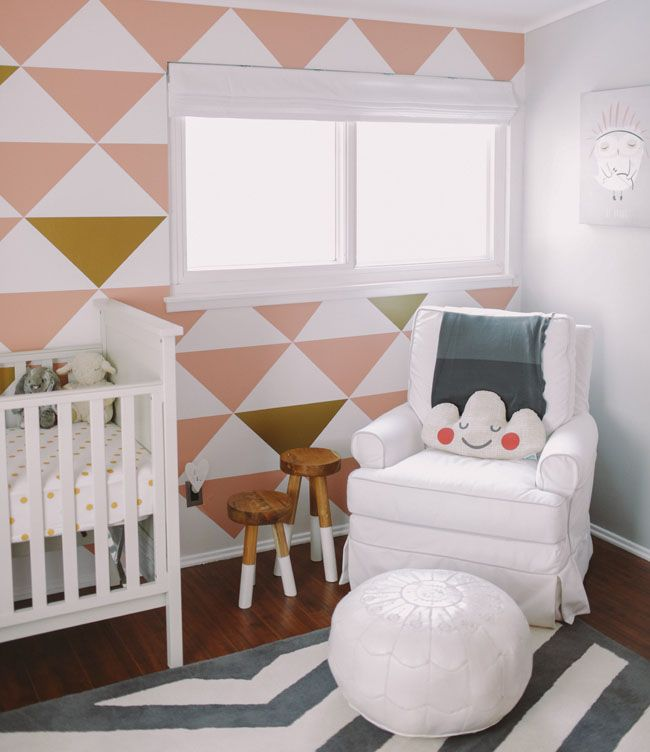 Sienna\u0027s Nursery Baby P Pinterest Deco chambre, Bureau moderne