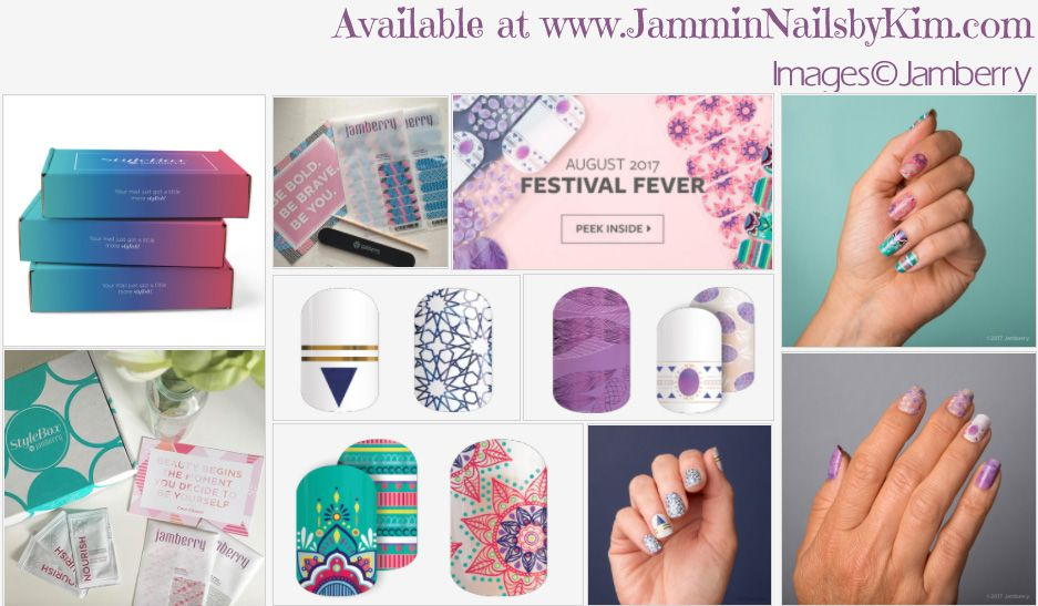 Fabulous #NailArt #NailWraps in this month's #StyleBox!   Order July's Style Box & receive a #Free 1/2 sheet from me!!!  #DIYNails #DIYNailArt #PrettyNails #FreeNailWraps #Jamberry