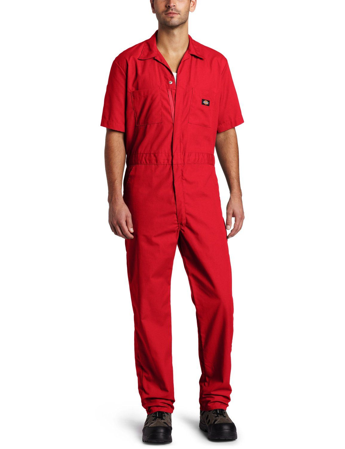 amazon com dickies men s short sleeve coverall overalls on dickies coveralls id=39936