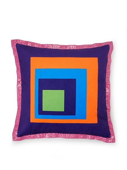 Art, Style, Innovation Cube Pillow - This awesome cubist pillow will look great on my bed. It's hip to be square and it's only $39!