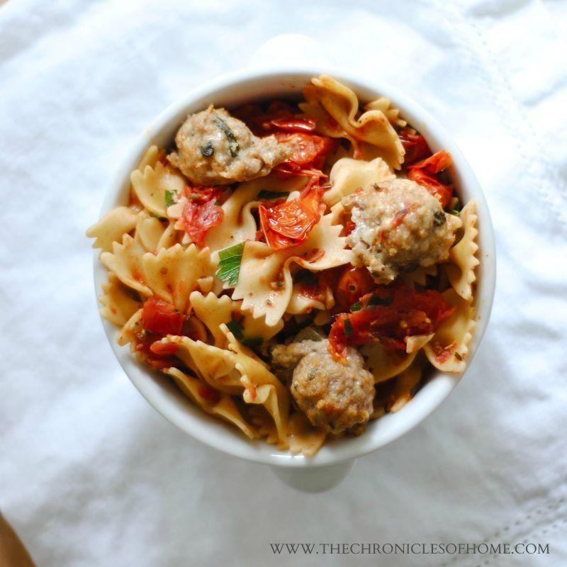 "Healthy Summertime ""Spaghetti & Meatballs"""