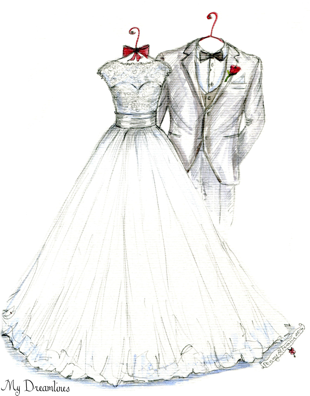 Pin By Wedding Dress Sketch Dreamlines On Isn 39 T It