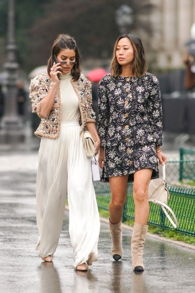 The Best Street Style At Couture Fashion Week #refinery29 www.refinery29.uk