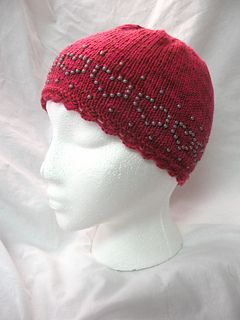Beaded Chemo Cap pattern by Nancy Hopf free pattern ...